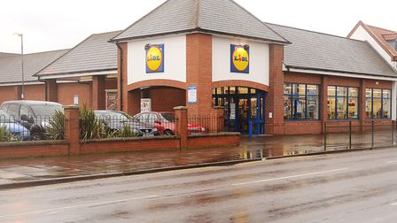 The Lidl in King's Lynn where Dr Pickering was found. Picture: Ian Burt