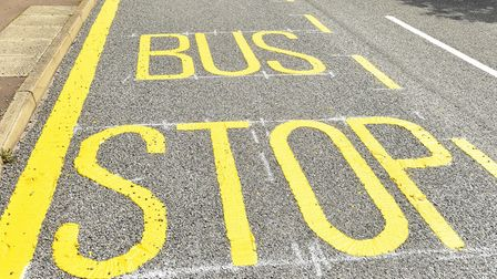 A BorderBus service to the James Paget Hospital from Bungay had to be cancelled after its driver was