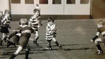 This picture shows England Ruby player Ben Youngs (Centre). Picture: Submitted