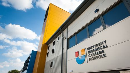 University Technical College Norfolk, on the southern fringe of Norwich, which opened in 2014. A gov