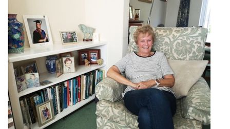 June Gidney, who has shared memories of living in a council houses in Norwich in the 1930s and 40s.