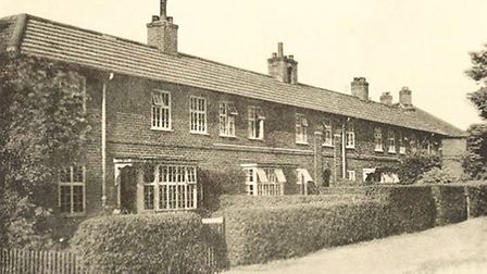 Mile Cross, pictured in the 1920s. Mile Cross was the first major housing estate built by Norwich Ci