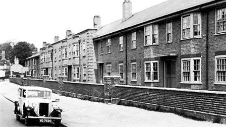 Union Street flats, pictured in the 1930s. Photo: Norwich City Council