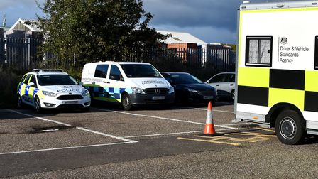 Suffolk Police and partner agencies carried out a day of action in Lowestoft to disrupt criminal act