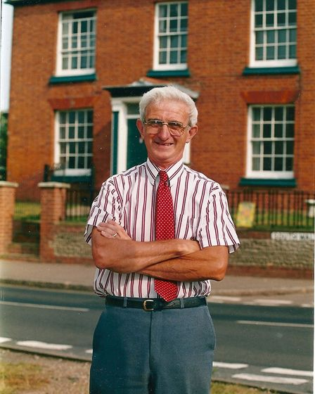 Malcolm Porter raised £130,000 for epilepsy during his lifetime.