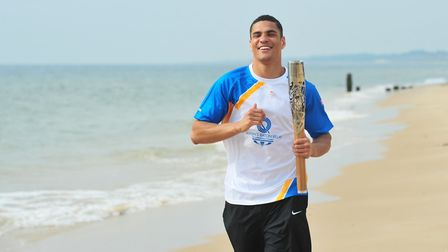 Anthony Ogogo has signed with All Elite Wrestling in America. Picture: Nick Butcher