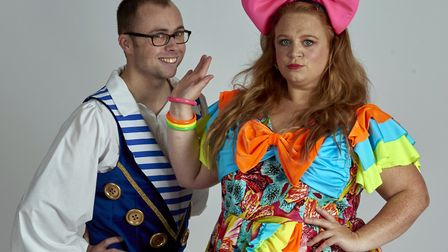 Joe Tracini will play Buttons and Amanda Henderson is an Ugly Sister in Norwich Theatre Royal's pa