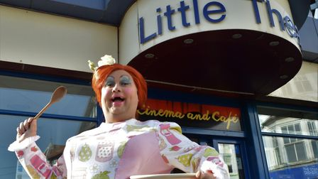 Nick Earnshaw will play this year's dame at Sheringham Little Theatre's production of Dick Whittingt