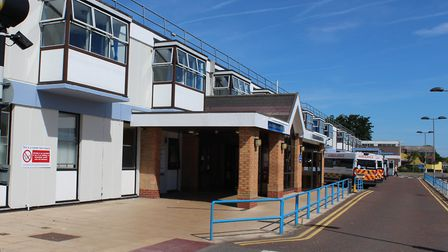 Extra funding for mental health liaison services at the James Paget University Hospital (pictured) a