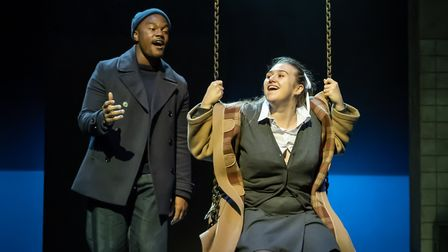 Durone Stokes as Jimmie and Gemma Dobson as Jo in A Taste of Honey Credit: Marc Brenner