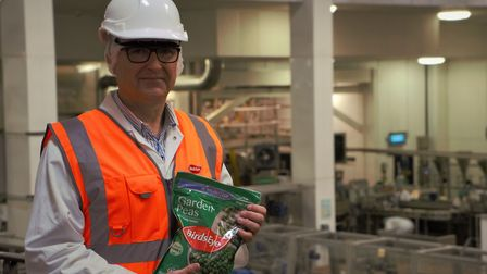 Andy Cole of Birdseye Peas, featured on ITV4's Made in Britain, which airs tonight (Wednesday 30) at