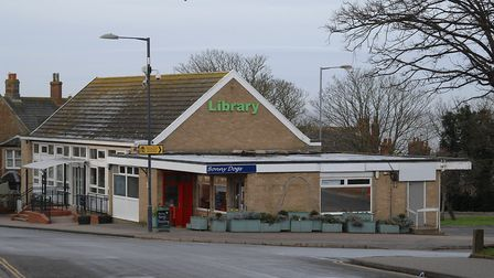 Hunstanton library, which could be replaced with a larger library Picture: Chris Bishop
