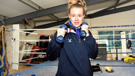 Charley Davison is aiming to secure a place in the 2020 Olympics after victory on her return to inte
