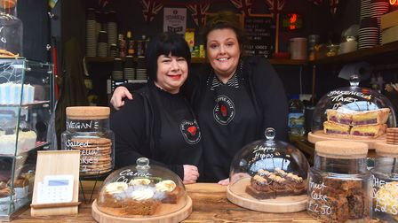 The Cuppie Hut owners Mel Abel and Kim Cooper are giving away free cakes to the first 50 customers t