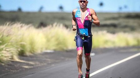 Joe Skipper in action during the 2018 Ironman World Championship in Hawaii Picture: Activ Images