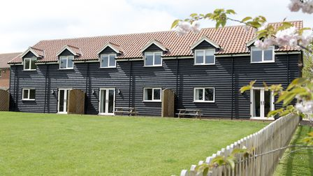 The three barn style cottages at Fielding Cottage Norfolk Holidays in Honningham, sleep up the 10 pe