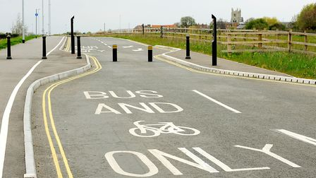 Hardings Way in King's Lynn where plans are afoot to build a new through road. Picture: Ian Burt