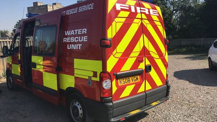 Water rescue teams were called to the scene. Picture: Archant Library