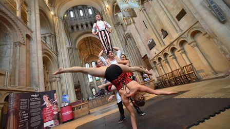 Norwich Playhouse is launching its very first in-house Christmas production, a Circus Carol based on