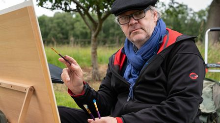 Walsingham-based artist Keith Tutt (pictured) is set to appear on Sky Arts Landscape Artist Of The Y