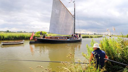 Another glorious day on The Broads Picture: James Bass