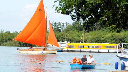 A busy weekend at Ranworth staithe in 2010 Picture: James Bass/Archant