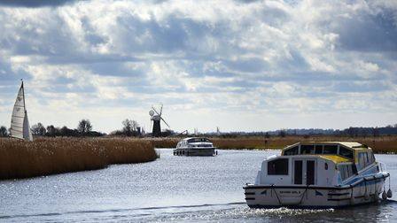 The beauty of The Broads, on the River Thurne in 2016 Picture: ANTONY KELLY/Archant