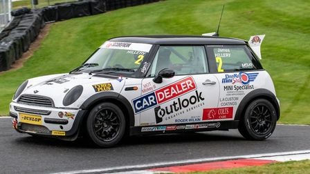Shipdham's James Hillery is looking to round out his first Mini Cooper Pro/Am season with a victory