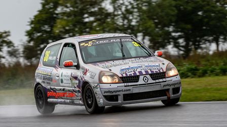 Marchs Ryan Polley ensured he claimed the Renault Clio 182 Championship with victory in the opening