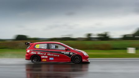 Blofields Martin Ward finished in sixth place in his Hot Hatch Championship category at Snetterton w