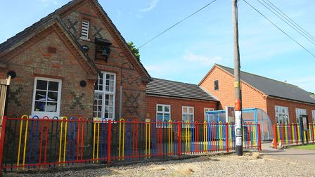 Burston Primary School, which could merge with Tivetshall Primary School under academy trust plans.