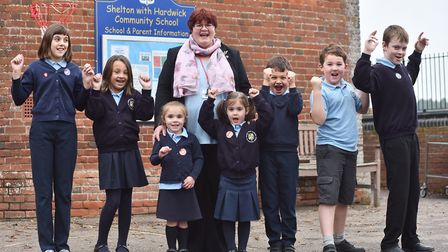 Shelton with Hardwick Community Primary School shut its doors after a decline in pupils numbers. Pic