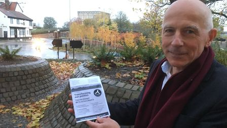 Simon Rous, founder of the Universal Good Party, who is standing for election in Broadland. Picture: