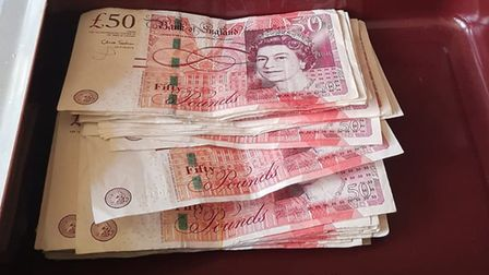 Police seized drugs, £6,000 in cash and mobile phones during a drugs raid on Humbletoft Road, Dereha