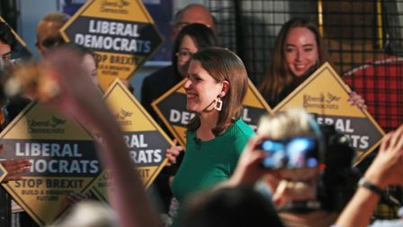 Liberal Democrats leader Jo Swinson during the launch of her party's manifesto - but what do their p