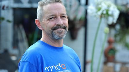 Nigel Allen was diagnosed with motor neurone disease two years ago. Picture: Jamie Honeywood