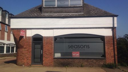 The front unit at Hungate Court in Beccles will be used as a gun shop. Picture: Greta Levy