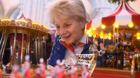 The Dean of Norwich, the Very Rev Jane Hedges, takes a look at a vintage model christmas fairground