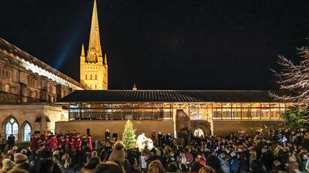 Norwich Cathedral Advent open evening. Photo: Norwich Cathedral / Bill Smith