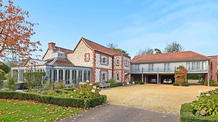 Mill House, Heacham, a substantial seven-bedroom property set over three acres of secluded, mature g