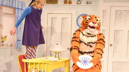 The Tiger Who Came to Tea Credit: Supplied by Norwich Playhouse