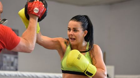 Stevi Levy makes history in Norwich tonight on her pro debut Picture: Jamie Honeywood