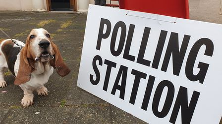 A polling station at a previous election. Picture: Victoria Pertusa