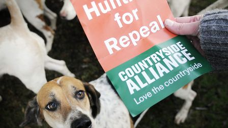 The Countryside Alliance has previously called for fox hunting to be made legal again. Picture: Arch