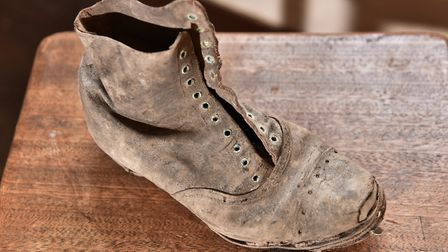 A she has been found under floorboards of the girls schools at Gressenhall MuseumMegan Dennis, Curat