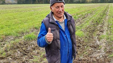Adrian Dawes has 30 years experience in metal detecting but has never come across a grenade before.
