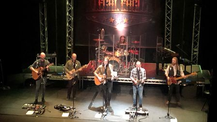 The Illegal Eagles performing at Marina Theatre in Lowestoft. Picture: Danielle Booden