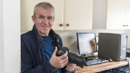 David Cullingford, who spent some time in prison, has created a Norfolk wildlife calendar. Picture: