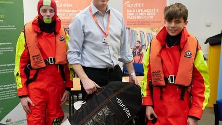 Students attending the Skills for Energy 2018 event last year, which was held at the Offshore Wind S