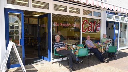 The People's Palace Café at Suffolk Square, Norwich. Picture: DENISE BRADLEY